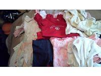 Baby girls clothes 0-3 months job lot bundle 1