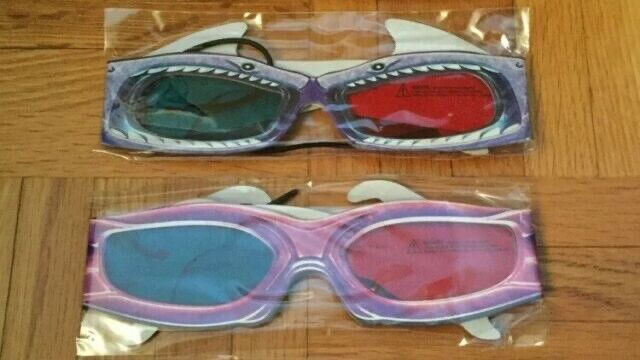 Sharkboy and Lavagirl 3D Glasses Pair