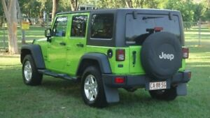 2013 Jeep Wrangler JK MY2013 Unlimited Sport Green 5 Speed Automatic Softtop