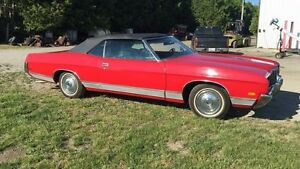 1972 Ford LTD convertible v8