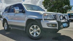 2006 Toyota Landcruiser Prado GRJ120R GXL Silver 5 Speed Automatic Wagon Bungalow Cairns City Preview