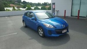 2011 Mazda 3 BL10F2 Neo Sky Blue 6 Speed Manual Hatchback Mount Gravatt Brisbane South East Preview