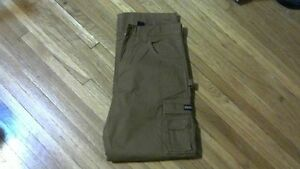 Mens Dakota Fleece Lined Stretch Duck Work Pants[new]34X30