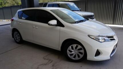 2014 Toyota Corolla ZRE182R Ascent Glacier White 7 Speed CVT Auto Sequential Hatchback Port Macquarie Port Macquarie City Preview
