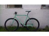 single speed/fixed gear bike, fixie