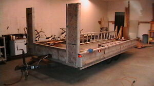 8x14 Flat deck trailer, possible tiny trailer home