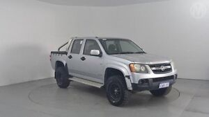 2008 Holden Colorado RC LX (4x4) Silver 4 Speed Automatic Crew Cab P/Up Perth Airport Belmont Area Preview
