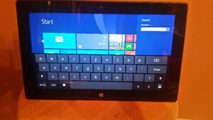 "A MICROSOFT SURFACE RT TABLET 10.6"" - 32 GIG - IRON BRIDGE"