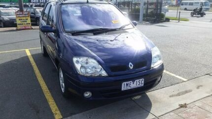 2002 Renault Scenic J64 Dynamique Blue 4 Speed Automatic Hatchback Heatherton Kingston Area Preview