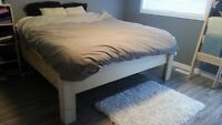 King Size Rustic Wooden Bed Frame