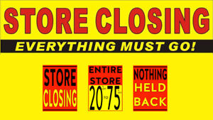 Whitby Fabrics Sewing Centre - Store Closing Sale