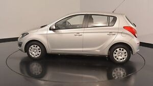 2014 Hyundai i20 PB MY15 Active Sleek Silver 4 Speed Automatic Hatchback Victoria Park Victoria Park Area Preview