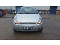 FORD KA LUXURY 1.3L 11 MONTHS MOT
