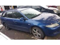 Mazda 6 2.0 Manual Gearbox Breaking For Parts (2003)