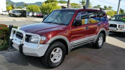 2002 Mitsubishi Automatic Turbo Diesel 7 Seat Pajero 4x4 Wagon Westcourt Cairns City Preview