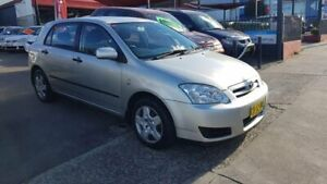 2006 Toyota Corolla ZZE122R 5Y Ascent Silver 4 Speed Automatic Hatchback Lidcombe Auburn Area Preview