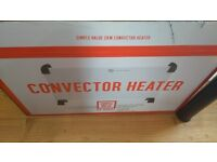 Barely used convector heater (with original box)