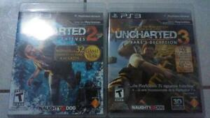 Uncharted 2 & 3 for the PS3