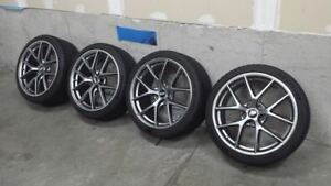 BBS CI-R wheels w/ Michelin Pilot PS4S tires (BMW fitment)