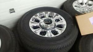 brand new ford f350 8 bolt tires and rims
