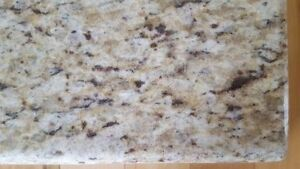 Granite bathroom vanity counter top, New professionally finished