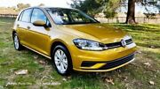 2017 Volkswagen Golf 7.5 MY18 110TSI DSG Turmeric Yellow 7 Speed Sports Automatic Dual Clutch Tanunda Barossa Area Preview