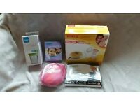 Breastfeeding Electric Breast Pump with other Breastfeeding items *never been used*