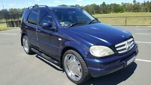 2001 Mercedes-Benz ML W163 320 (4x4) Blue 5 Speed Auto Tipshift Wagon Revesby Bankstown Area Preview