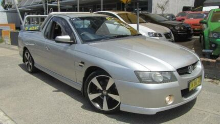 2006 Holden Commodore VZ MY06 Upgrade SS Thunder Silver 6 Speed Manual Utility
