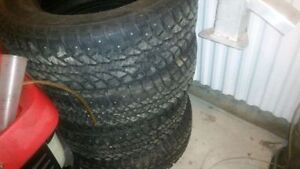NEED GONE 275/65R18 studded winter LT tires