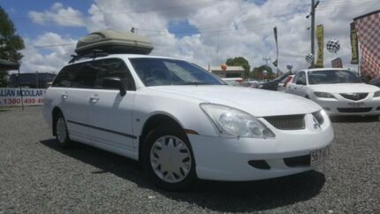 2005 Mitsubishi Magna TW ES White 4 Speed Automatic Wagon Kingston Logan Area Preview