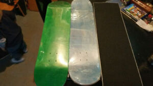 Blank Skateboards With Grip Tape