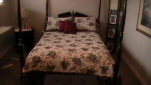 Queen Size bedspread and two shams