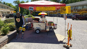SELLING MY HOT DOG CART - ALL EQUIPMENT - FOR QUICK SALE!
