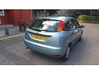 Ford Focus Automatic 1.6 cc Mot an Tax till March 2017 in good condition.