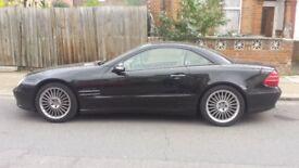 Mercedes 500 sl convertible