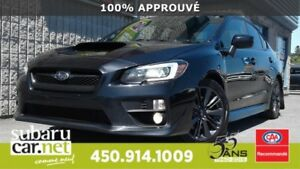 2015 Subaru WRX sport JAMAIS ACCIDENTÉ, BLUETOOTH *92$/sem / GTI