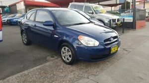 2006 Hyundai Accent MC Blue 4 Speed Automatic Hatchback Lidcombe Auburn Area Preview