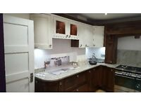 Stunning Aisling Solid Walnut Ex Display Kitchen