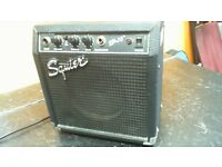 SQUIER SP.10 AMPLIFIER IN GOOD CONDITION