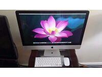 iMac 27 inch (Mid 2011) Super i5 2.7Ghz Quad Core, 8GB Ram, 1TB HD, RADEON HD 6770M 512MB,El Capitan