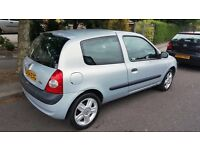 2004 RENAULT CLIO 1.2 16V PERFECT CONDITION LOW MILEAGE 63000 TAX AND MOT DRIVE VERY GOOD