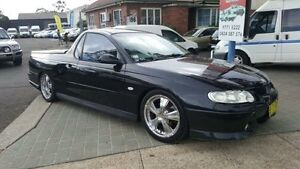 2002 Holden Commodore Vuii S Black 4 Speed Automatic Utility Revesby Bankstown Area Preview