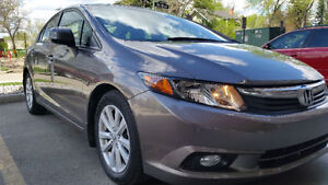 2012 Honda Civic Loaded EX-L 4 door Sedan - Only 49K