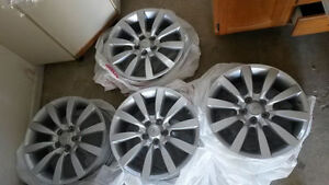 MITSUBISHI 18 ORIGINAL ALLOY 4 WHEEL RIMS
