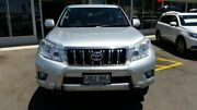 2010 Toyota Landcruiser Prado KDJ150R GXL Silver 5 Speed Sports Automatic Wagon Blair Athol Port Adelaide Area Preview