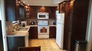 2 Fully Furnished Upper Level Rms. Available Apr.1st - No Lease