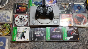 Selling PS1 with 15 games