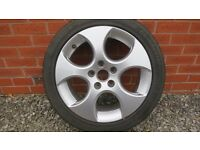 "17"" Alloy wheel for VW Golf MK5"