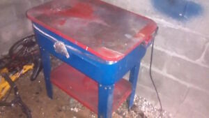 20 gallon parts washer with electric pump NEEDS TO GO! Cambridge Kitchener Area image 1